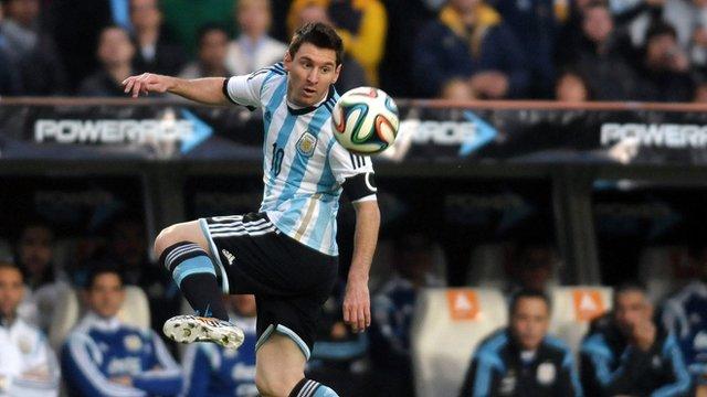 Argentina's Lionel Messi