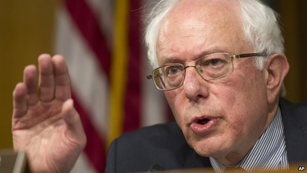 Senate Veterans Affairs Committee Chairman Bernie Sanders appeared in Washington on 15 May 2014