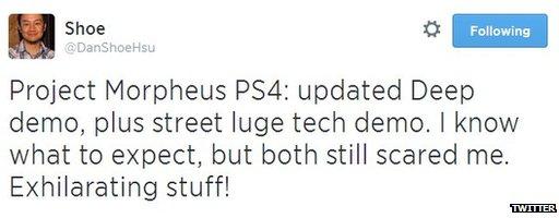 E3 tweet