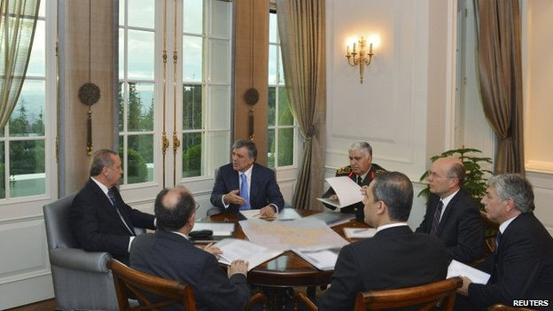 Emergency Turkish government meeting in Ankara (11 June)