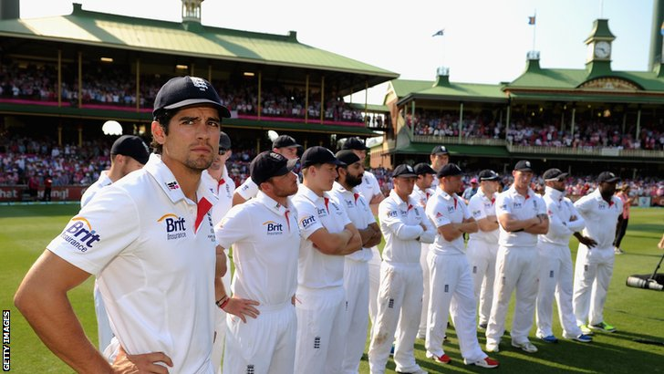 Alastair Cook and England at Sydney