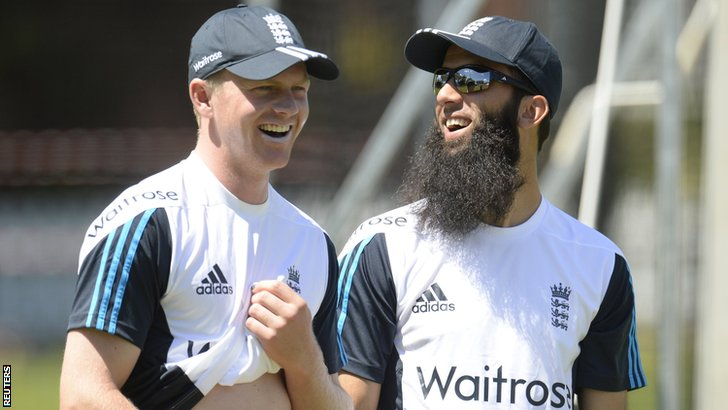 Sam Robson and Moeen Ali