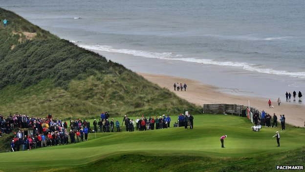 Irish Open at Portrush