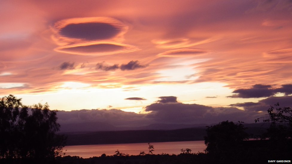 Sky over Black Isle