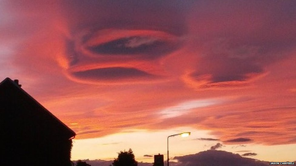 Sky above Inverness