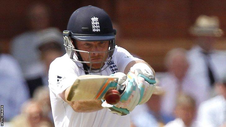England's Ian Bell