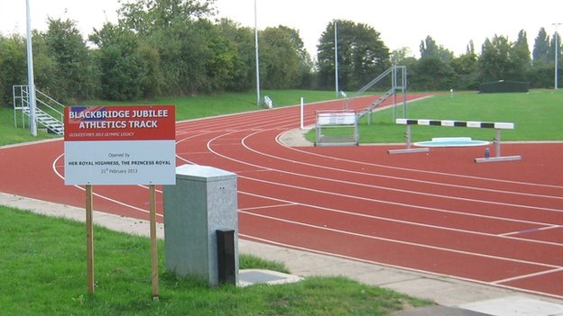 Blackbridge Jubilee Athletics Track