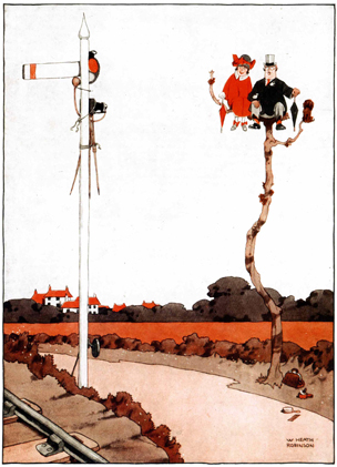 A Signal Invention by Heath Robinson