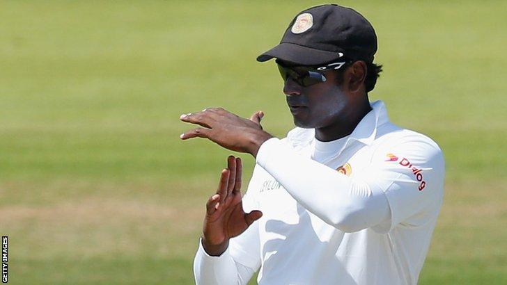 Sri Lanka captain Angelo Mathews