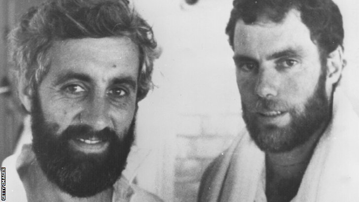 Mike Brearley and Greg Chappell