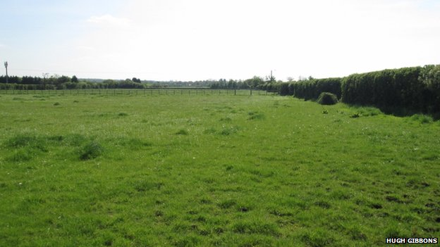 Former site of RAF Winkfield