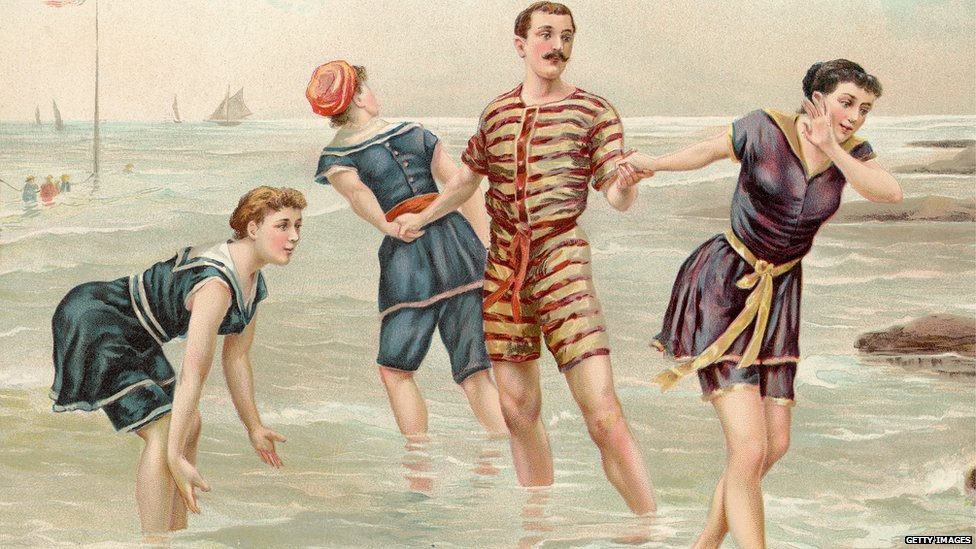 Victorian bathers