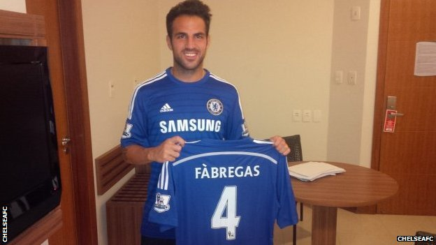 Chelsea are actually paying Barcelona more for Cesc Fabregas than was first thought