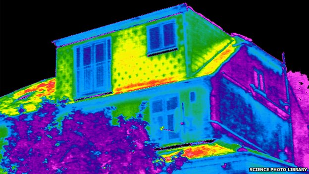 Building thermogram
