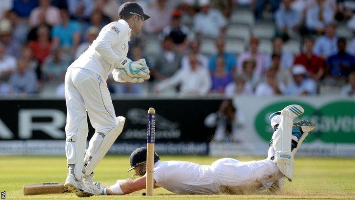 England's Matt Prior