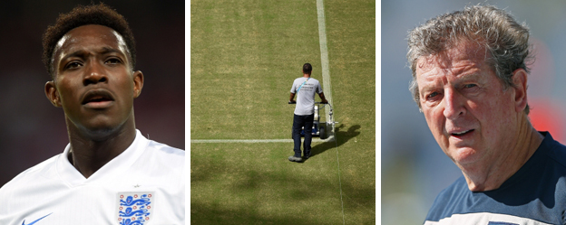 Danny Welbeck, the pitch at the Arena Amazonia, Roy Hodgson