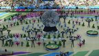 The World Cup opening ceremony at the Arena de Sao Paulo was designed to symbolise Brazil's nature, people and football