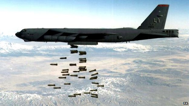 An American Air Force B-52 bomber (file photo)