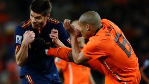 Netherlands v Spain 2010