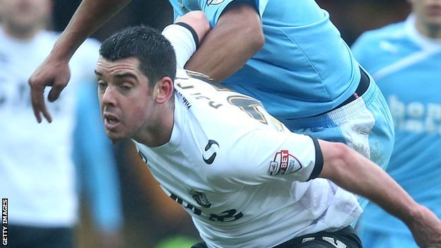 Vale defender Richard Duffy has been signed four times by Micky Adams