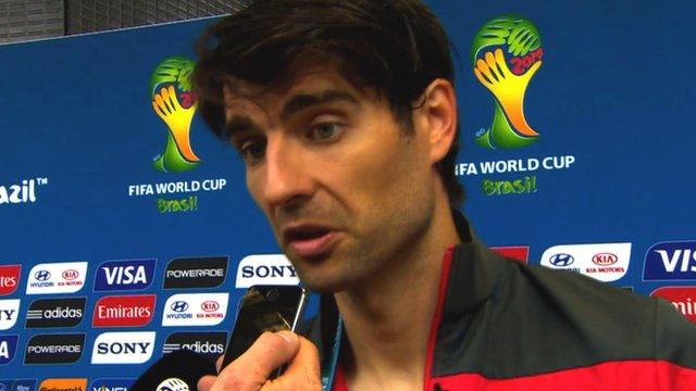 World Cup 2014: Vedran Corluka calls Brazil v Croatia referee 'embarrassing'