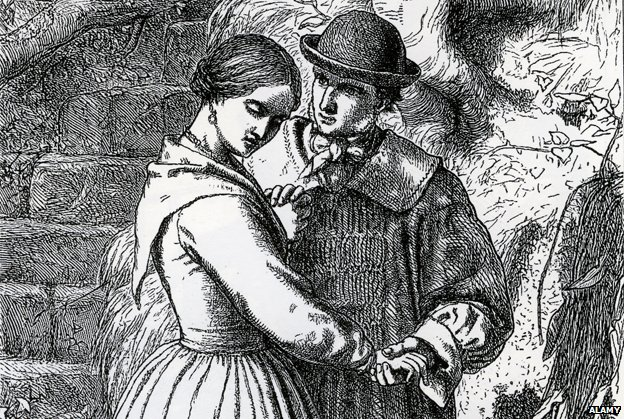 Generic picture of a Victorian couple
