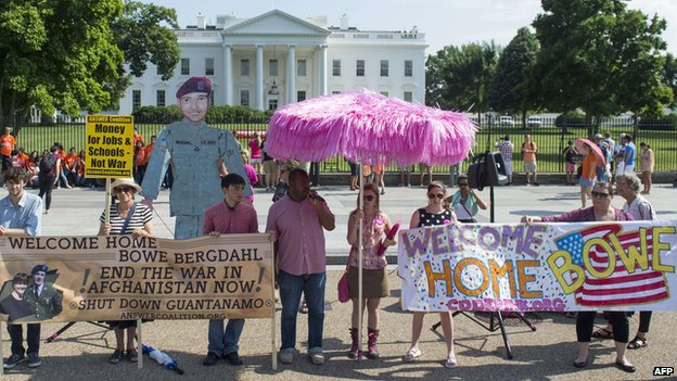 Protest at White House