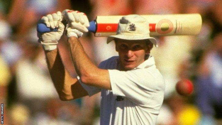 Former England batsman David Gower
