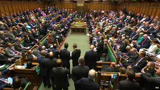 Debate in House of Commons
