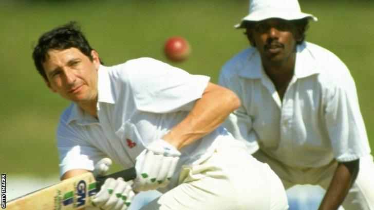 Former England batsman Derek Randall
