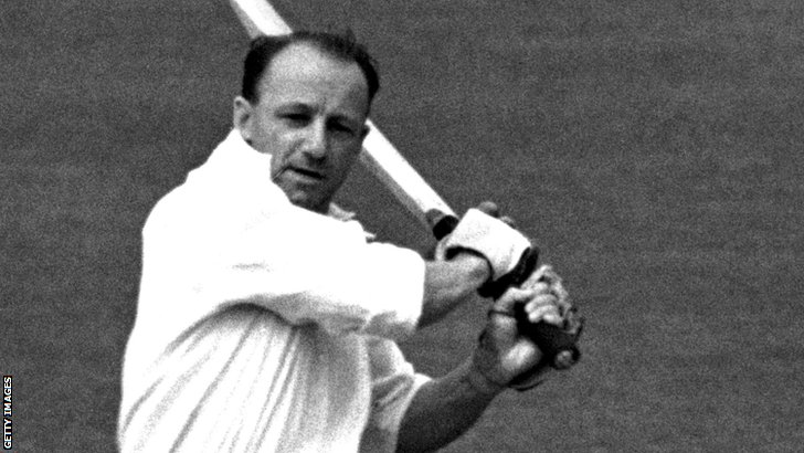 Former Australia batsman Donald Bradman