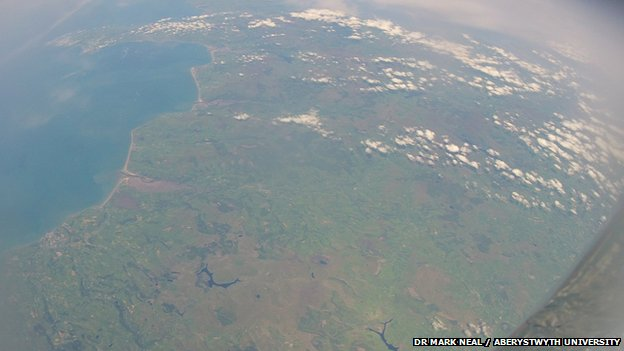 View of Wales