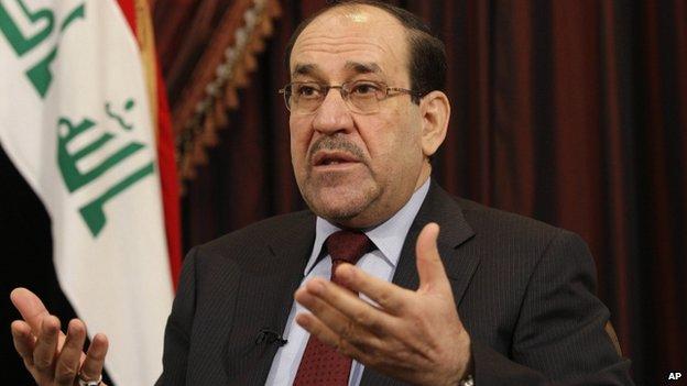 Iraqi Prime Minister Nouri Maliki (December 2011)