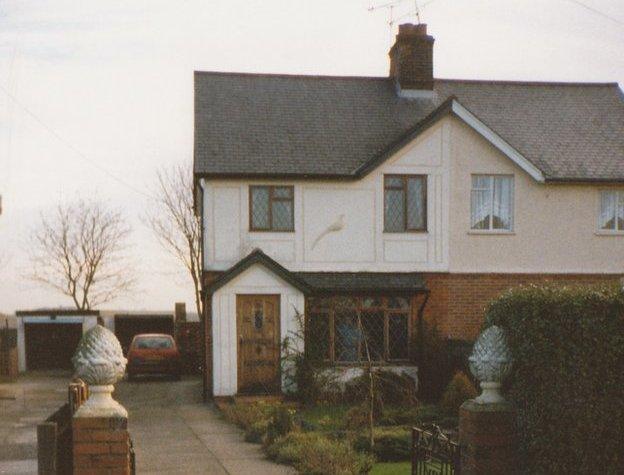 Outside of house