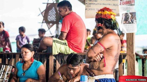 Munduruku in April 2014