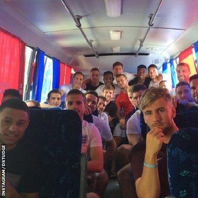 http://instagram.com/dstudge England team