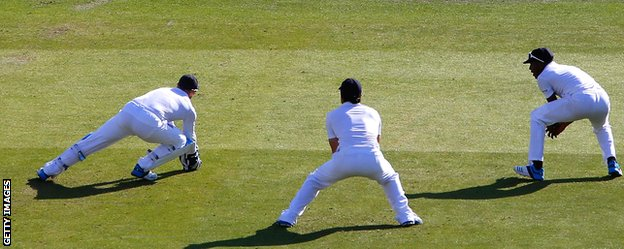Matt Prior's catch was deemed not have carried