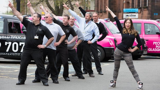 Glasgow Taxis dance workshop