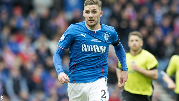 Rangers midfielder Kyle Hutton
