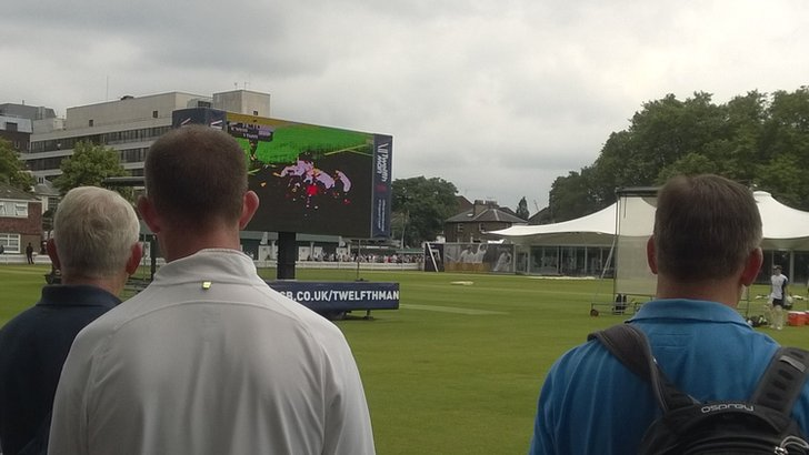 Big screen at Lord's