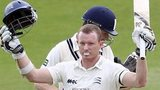 Chris Rogers acknowledges his third County Championship century of the summer