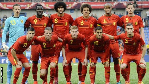 Belgium's golden generation