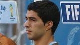 Uruguay striker Luis Suarez
