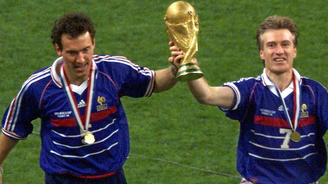 France win the 1998 World Cup