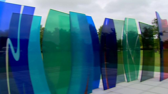 Memorial in the National Memorial Arboretum in Staffordshire.