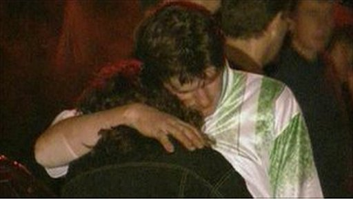 The immediate aftermath of the Loughinisland attack