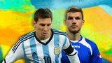 Lionel Messi, Edin Dzeko