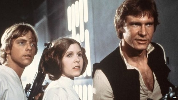 Mark Hamill, Carrie Fisher Harrison Ford