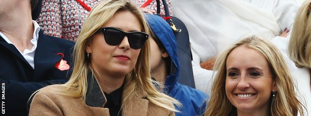 Maria Sharapova at Queen's Club