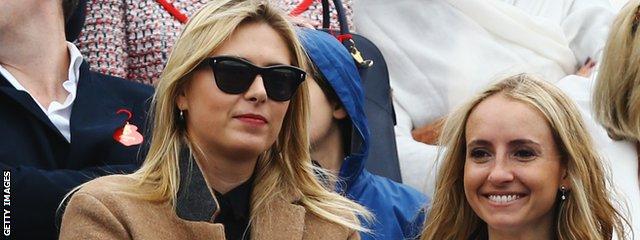 Maria Sharapova at Queen's Club